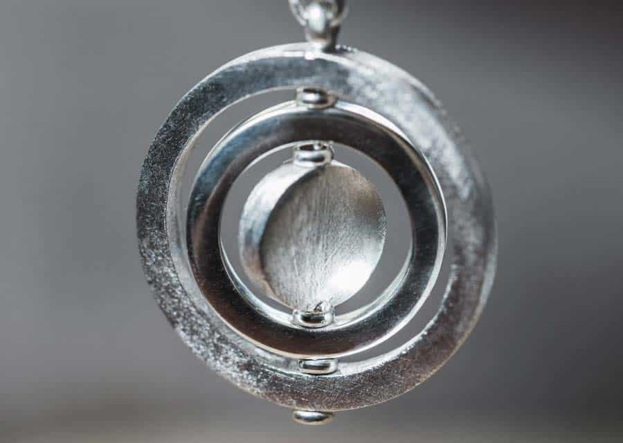 Reva Collection | Circle Moving Pendant