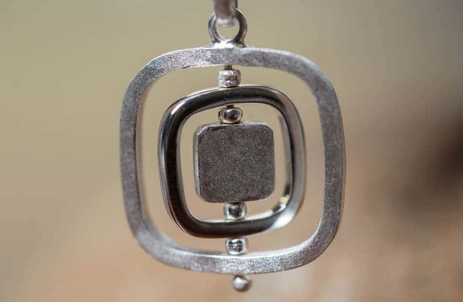 Reva Collection | Square Moving Earrings