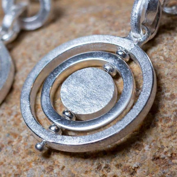Reva Collection | Circle Moving Earrings