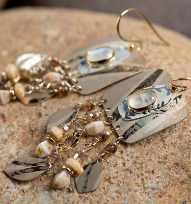 California Dreaming | gold/moonstone